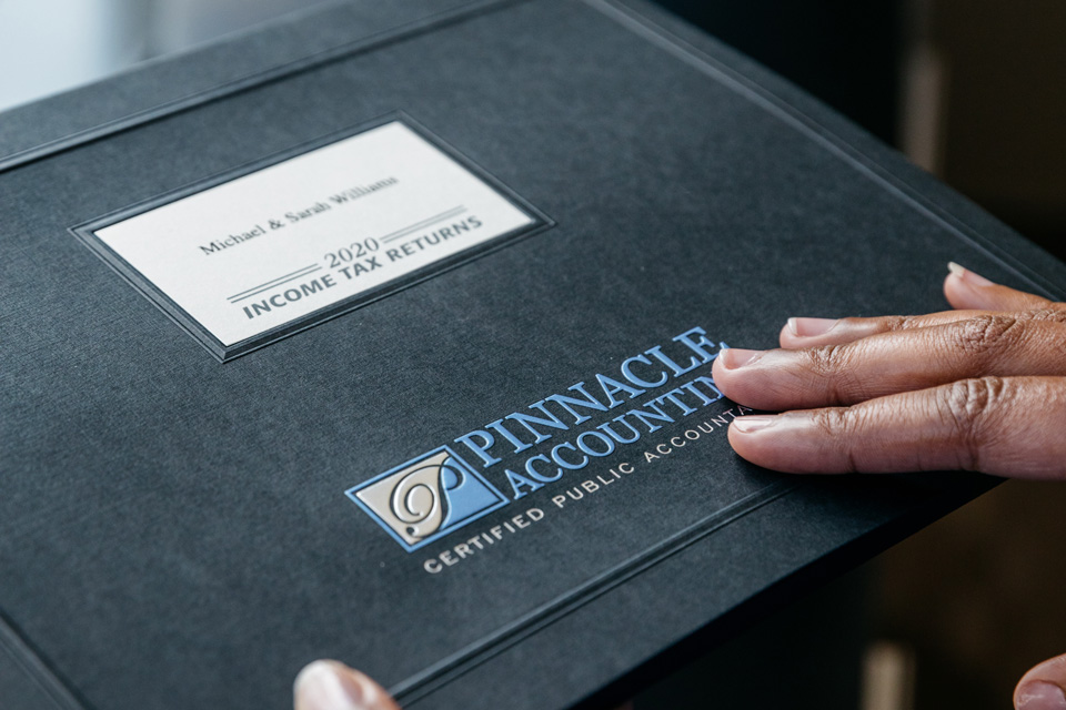 Lockhart Custom Presentation Folders