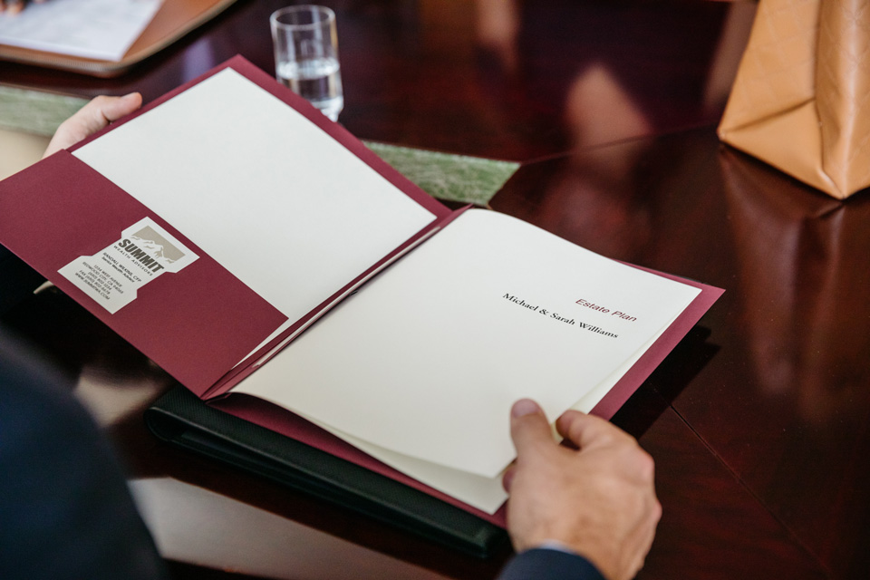 Lockhart estate planning presentation folders